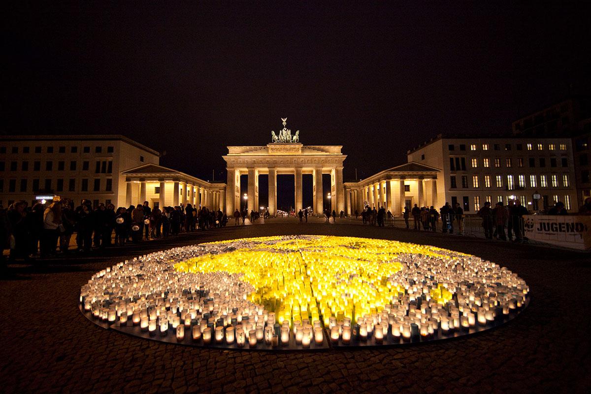 WWF Earthhour 2012 Berlin
