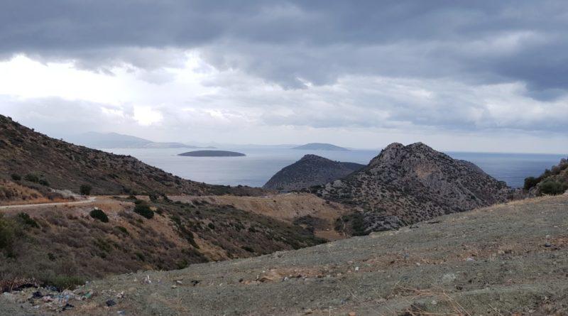 Atemberaubender Ausblick von der Wanderung nach Nafplio.