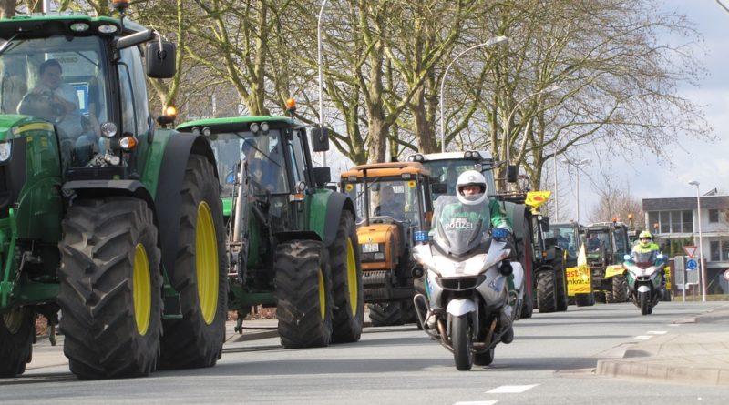 Warum gehen Landwirte zurzeit auf die Straße?