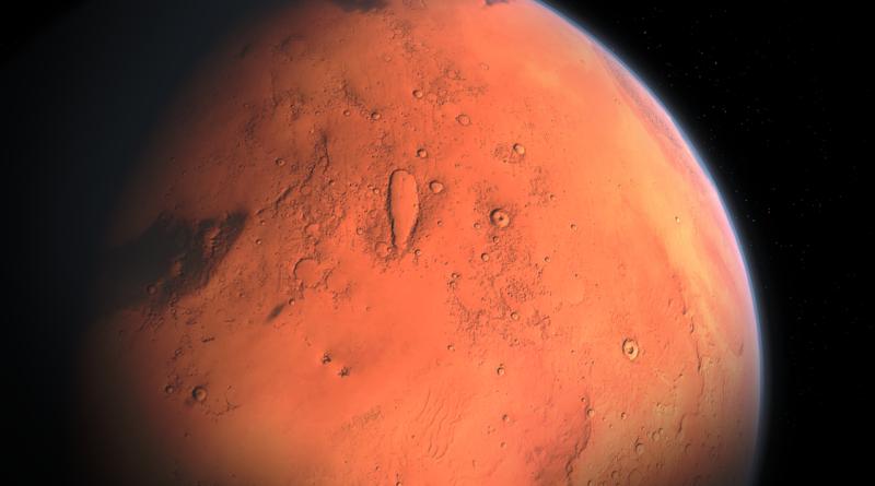 Das erste Mal Freunde auf dem Mars
